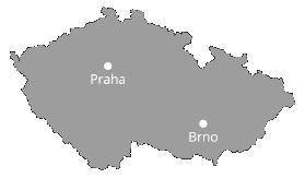 Mapa provozoven v CR